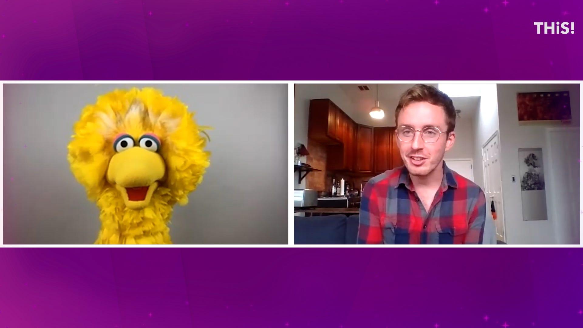 Big Bird on Sesame Street quarantine, Elmo's jokes and the show's new podcast
