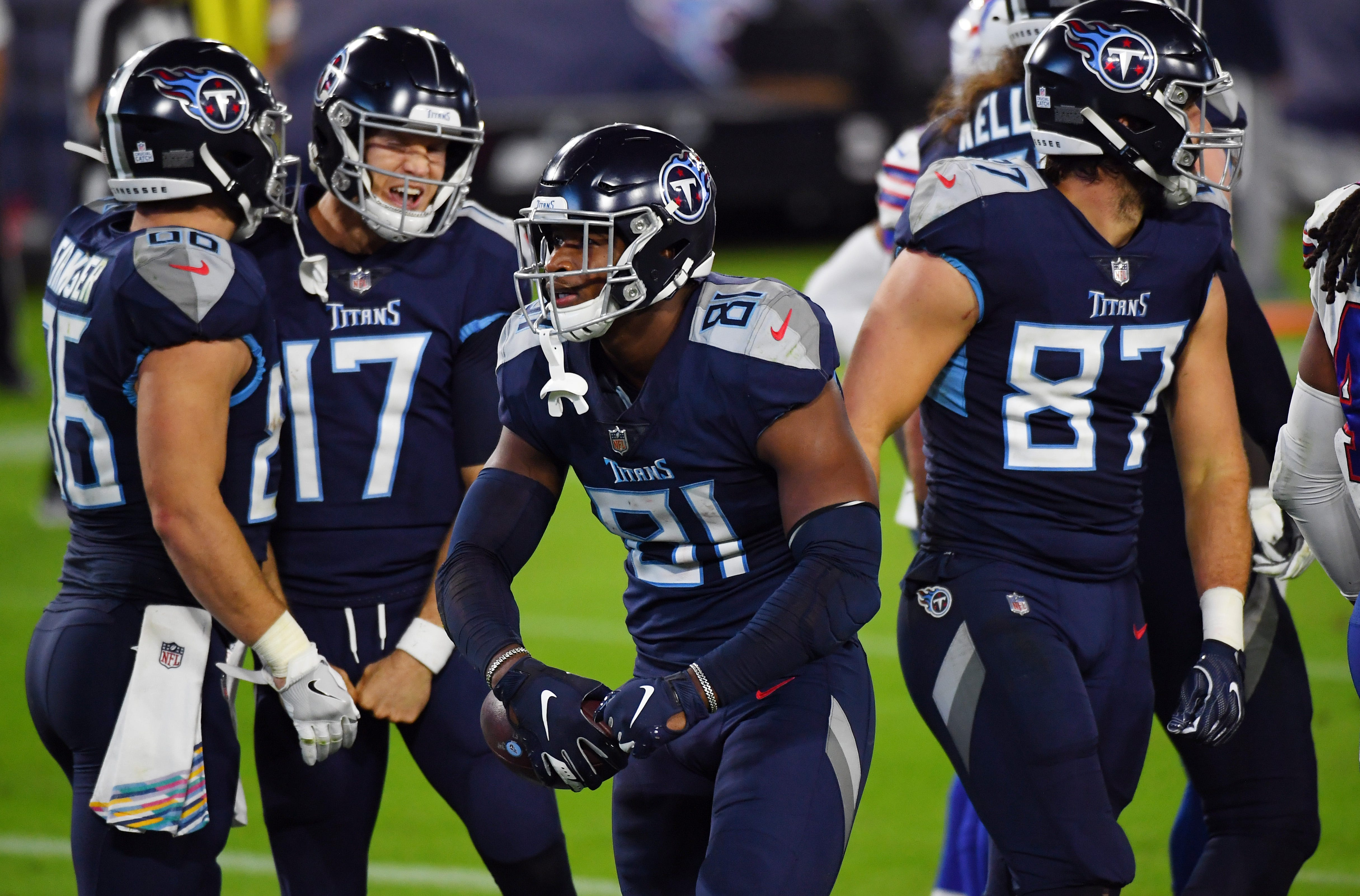 Titans Roll Bills In First Game After Covid 19 Outbreak