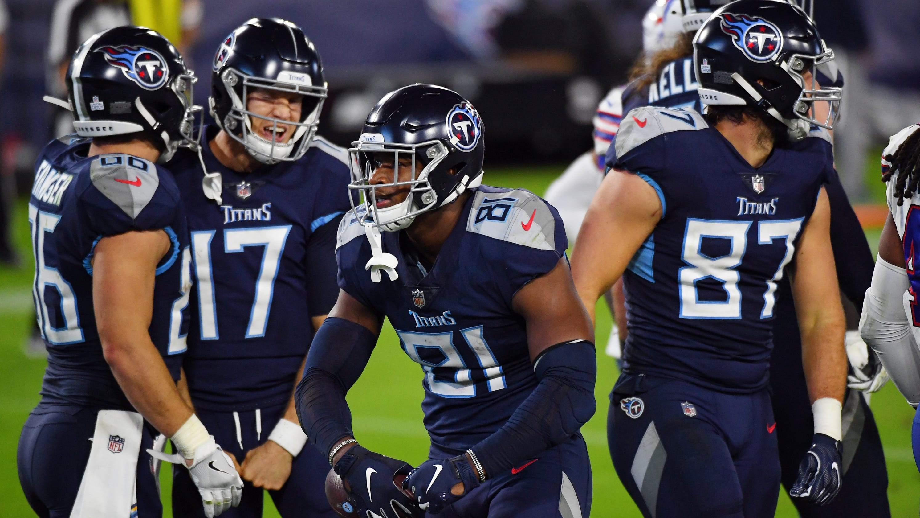 Tennessee Titans roll Buffalo Bills in first game after COVID-19 outbreak – USA TODAY