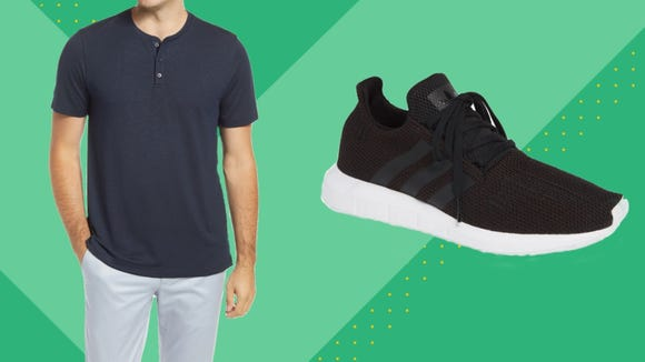 Grab incredible deals on top men's brands like Adidas, Converse and Quay.