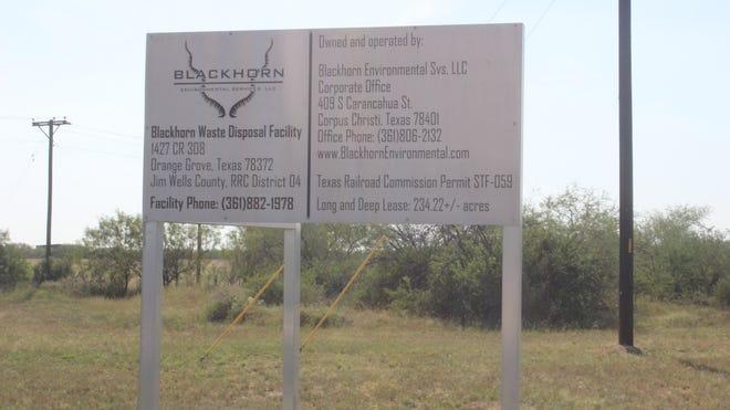 Blackhorn Environmental LLC. in Jim Wells County.