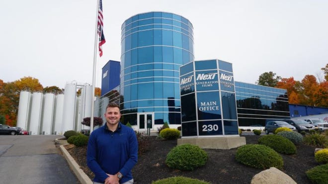 Ashland University graduateand former tight end Michael Schweitzer recently started a job at Next Generation Films in Lexington. Due to the pandemic, Schweitzer opted not to use his final year of eligibility for the AU football team.