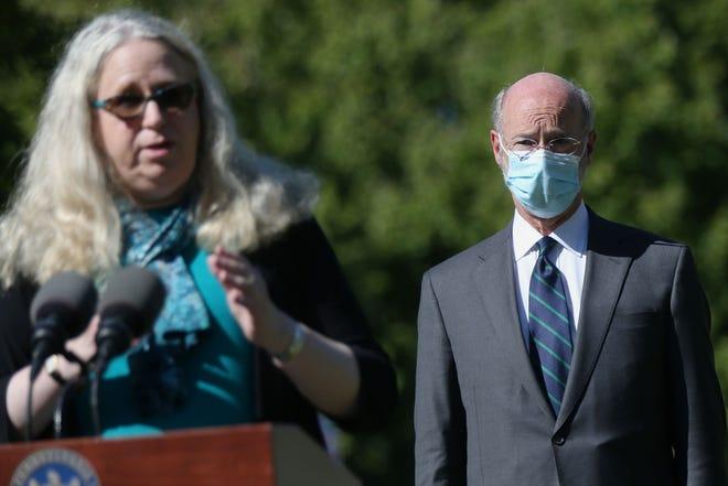 Gov. Tom Wolf chose Dr. Rachel Levine initially in 2015.