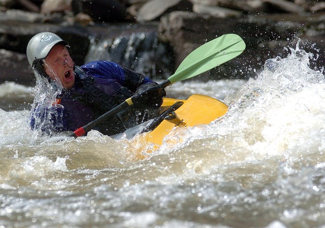 A water release from the Lake Nockamixon Dam Nov. 7 and 8 will create whitewater conditions on the Tohickon Creek.