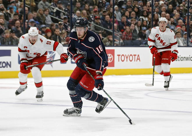 Blue Jackets center Pierre-Luc Dubois, a restricted free agent, could sign a contract with a salary cap hit similar to that of the deals signed in recent years by Brayden Point, Dylan Larkin and Nick Schmaltz.