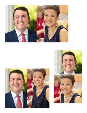 Dave Craven, left, and Jane Ledwell-Gant are battling for Craven's NC Senate District 26 seat.