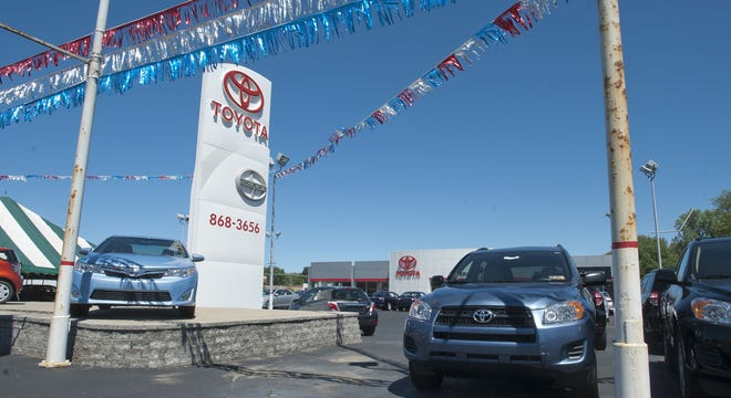 This is an August 2012 file photo of Superior Toyota, 5619 Peach St., in Millcreek Township. New Castle-based Preston Auto Group has purchased the Superior Toyota dealership.