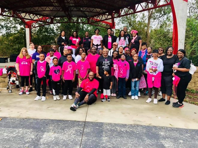 """The 3rd Annual, """"Sheila Oneal Breast Cancer Warrior Walk"""", sponsored by Boys To Kings Mentoring Alliance, Inc. will begin at 9 a.m. Saturday, Oct. 17, at Pearson Park in Kinston. This will be a one mile walk. [CONTRIBUTED PHOTO]"""