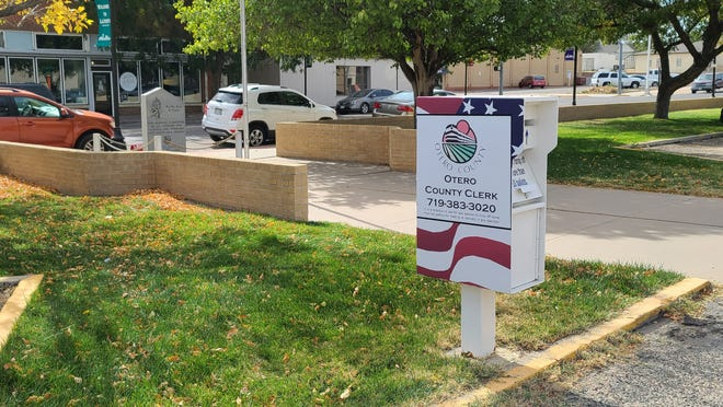 A 24-hour ballot drop box is stationed in the south parking lot of Otero County Courthouse at 13 W Third St. Other drop off locations in Otero County include Fowler and Rocky Ford city halls.