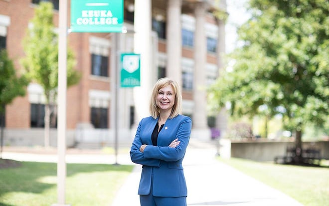 Keuka College President Amy Storey says the college is temporarily closing campus operations and making arrangements for healthy students to return home as it continues to navigate a cluster of coronavirus cases.