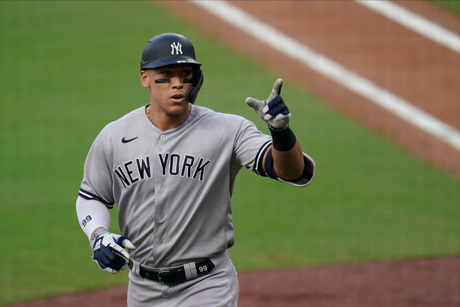 Aaron Judge had his third straight injury-interrupted season since winning the 2017 AL Rookie of the Year award, hitting .257 with nine homers and 22 RBIs in 101 at-bats and 28 games.