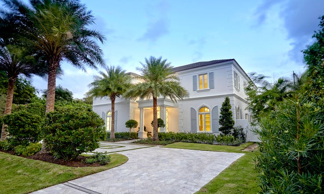 Just sold for a recorded $8.42 million, a Bermuda-style house at 140 Kings Road was developed by Purucker & Marrano Custom Homes of Palm Beach Gardens.
