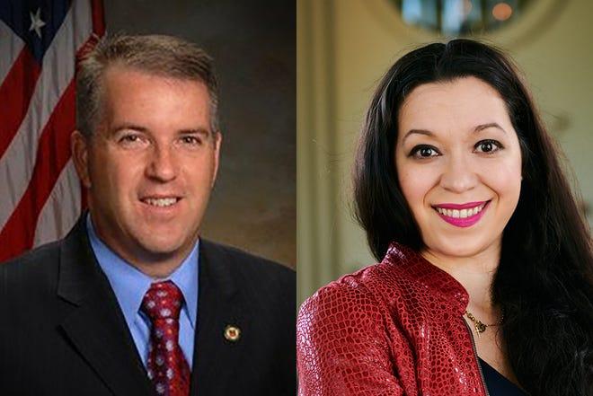 Democrat Matt Willhite, left, is running against Republican Susan K. Rivera for Florida House District 86.