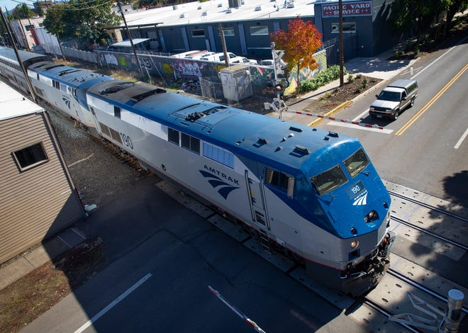 The Amtrak Coast Starlight trains will not be operating from Eugene to Sacramento until at least mid-July because of damage to tracks from California wildfire.