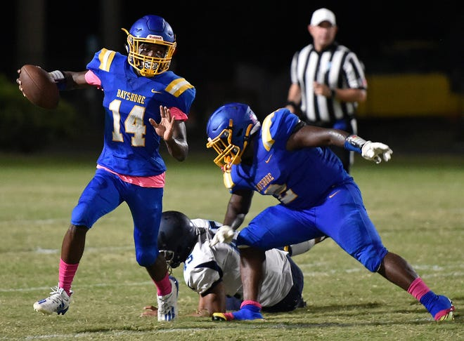 Bayshore High will be looking for its first victory of the season Friday night against Booker High at Tornado Alley on the Tornadoes' homecoming and senior night.