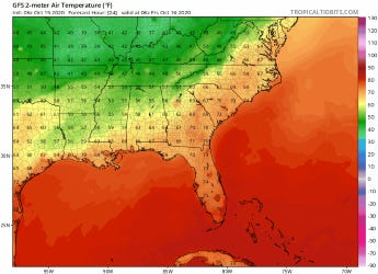 Temperatures in the Cape Fear region could slip into the upper 30s in spots this weekend.