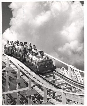 In 1963, the success of The Starliner was uncertain. It soon became a favorite of amusement park fans throughout the southeast.