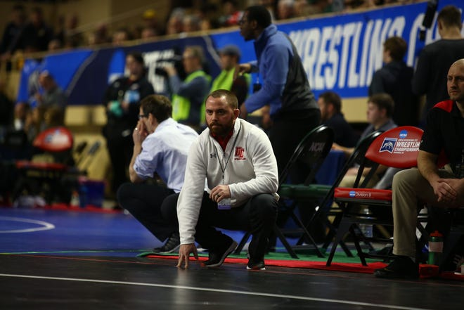 Former Harper Creek wrestler Adam Wilson has been named as the new head coach at Albion College.