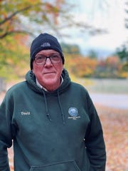 David Bertinelli, 59, lives in Charlevoix and manages parks and trails. She spent years traveling with her ex-brother-in-law Eddie Van Halen and has many fond memories and has never seen photos of their time together.