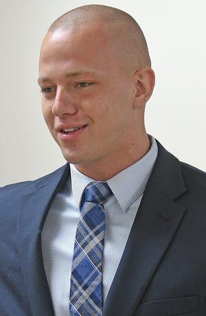Mansfield police Officer Jordan Moore