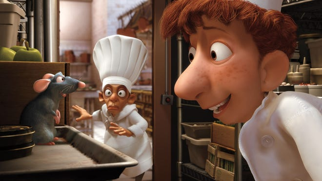 """""""Ratatouille"""" is one of the films inspiring a plate at Sanford restaurant in Milwaukee, which will have an entirely movie-themed takeout menu Oct. 15-31 to coincide with the virtual Milwaukee Film Festival."""