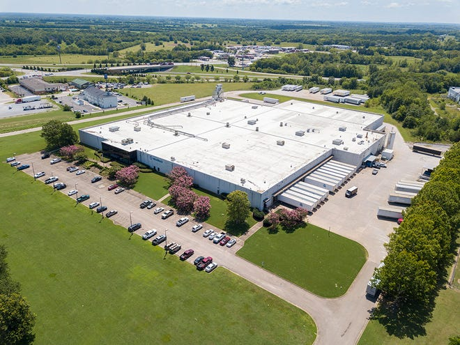 The WestRock corrugated box production and distribution facility sits on 22 acres in Montgomery.