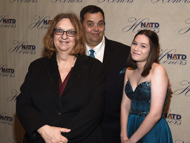 Kathy Smardak, Mike Smardak and Sasha Smardak attend The 2016 NATD Honors at the Hermitage Hotel on November 9, 2016 in Nashville, Tennessee.