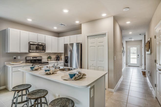 D.R. Horton Southwest Florida has opened two professionally decorated, open-concept model homes in Meadowood with stunning design features.
