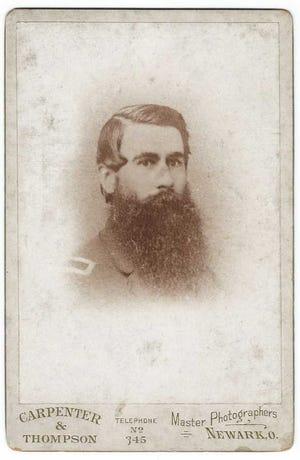 Second Lt. Harvey Ferguson, of Newark, provided testimony in the court-martial case for William Scott during the Civil War.