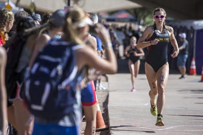 Arizona State triathlete Charlotte Ahrens is among nine finalists for the 2020 NCAA Woman of the Year award.