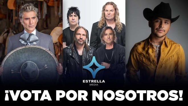 Importantes figuras de la música latina como Alejandro Fernández, Maná y Christian Nodal, entre otros, llaman a la comunidad hispana a participar con su voto en las Elecciones de Estados Unidos, este 3 de noviembre.