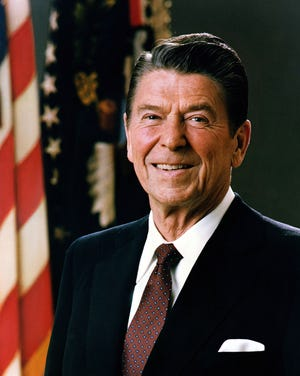 President Ronald Reagan renewed a sense of patriotism in the country. The Soviet Union, in trying to match his increases in U.S. defense spending, crippled their economy. When Reagan left office, his budget deficit was one of the very largest in history, nearly tripling.