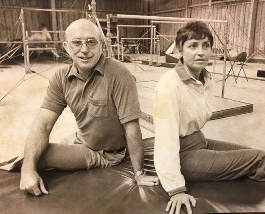 Bill and Darleen Anderson first had a gymnastics center; it soon became a fitness center.
