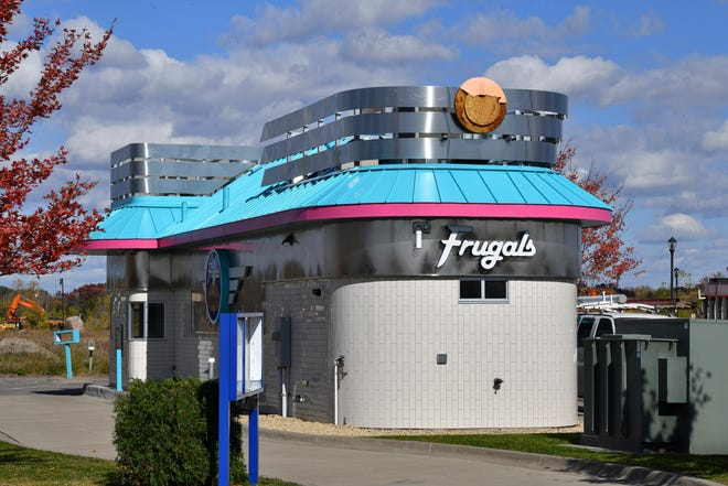 The site of the new Fudgin Delicious location is pictured Thursday, Oct. 15, 2020, in Sartell.