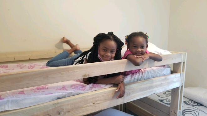 Sleep in Heavenly Peace builds bunk beds for families and has built about 1,000 in 18 months.