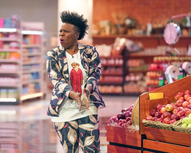 "Standup comedian and former ""Saturday Night Live"" regular Leslie Jones hits the grocery aisles as host and executive producer of an ABC game-show revival, 'Supermarket Sweep.'"