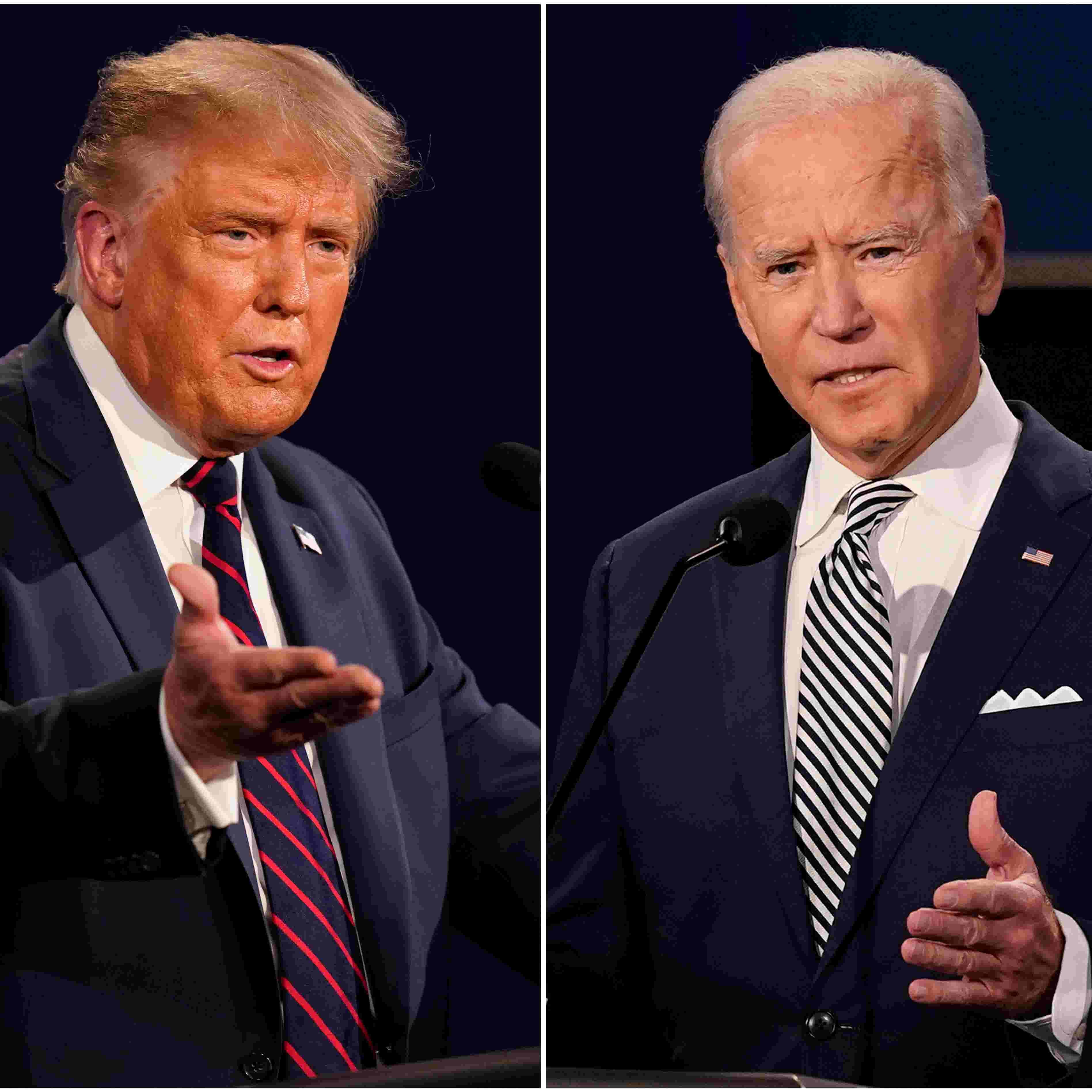 Fact Checking Last Night S Presidential Debate Joe Biden Donald Trump