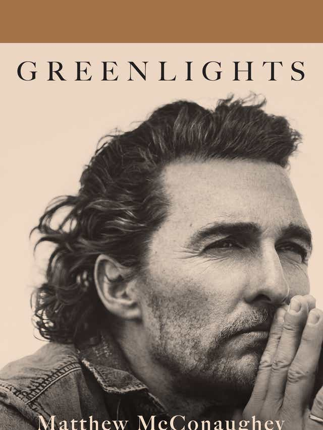 Matthew McConaughey lays soul bare in 'freeing' book 'Greenlights'