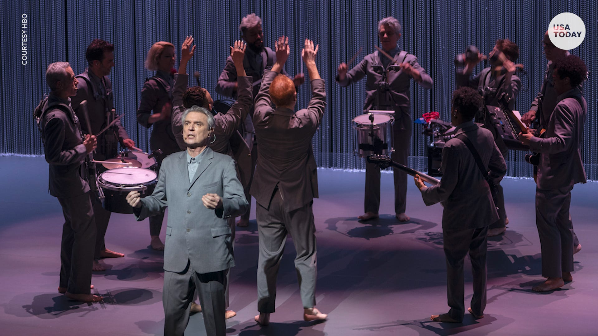 David Byrne teams up with Spike Lee for HBO concert movie 'American Utopia'