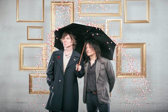 Goo Goo Dolls singer John Rzeznik, left, and bassist Robby Takac.