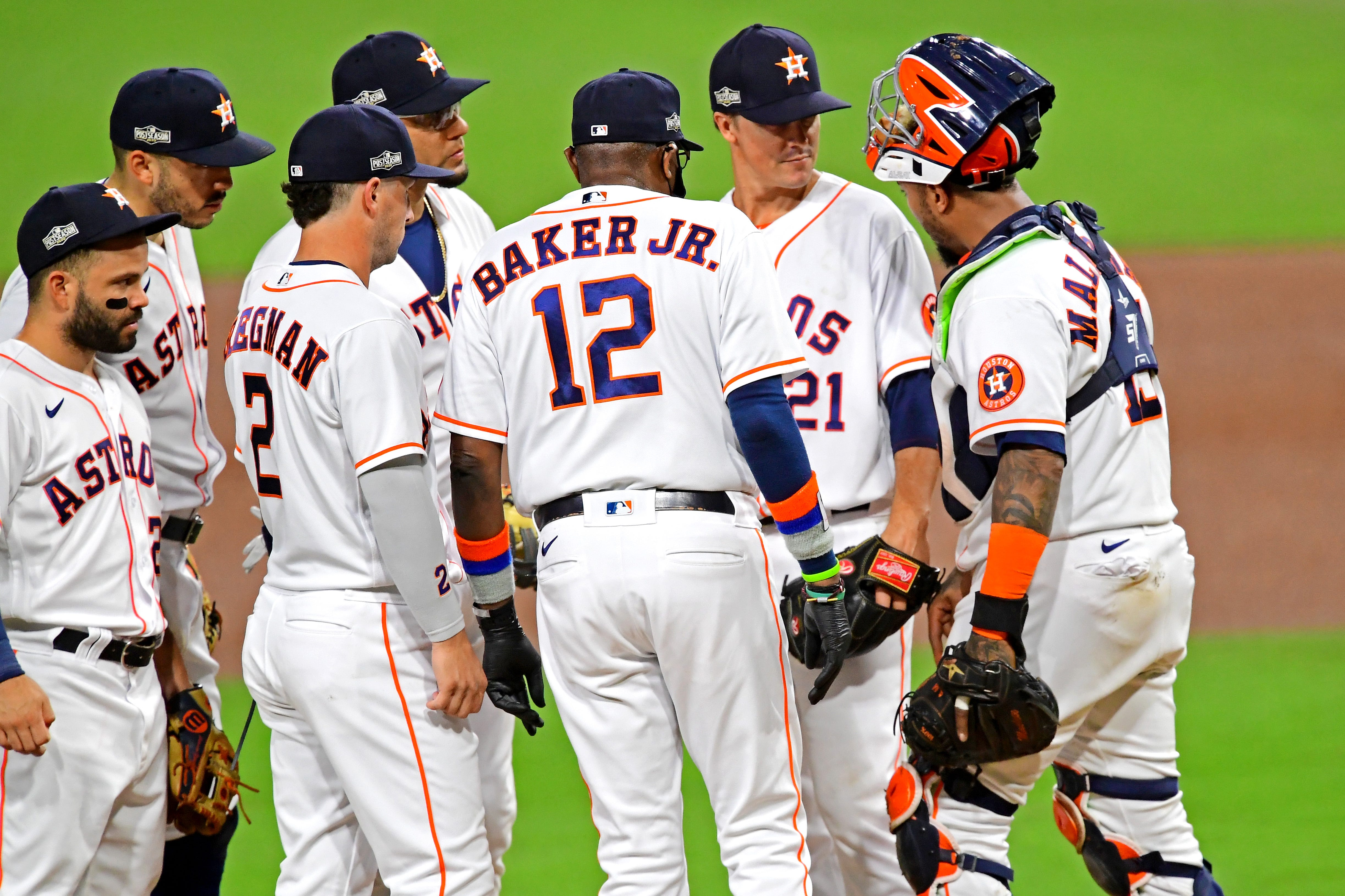'Nobody's ready to go home:' Manager Dusty Baker's old-school decisions pay off for Astros in ALCS Game 4