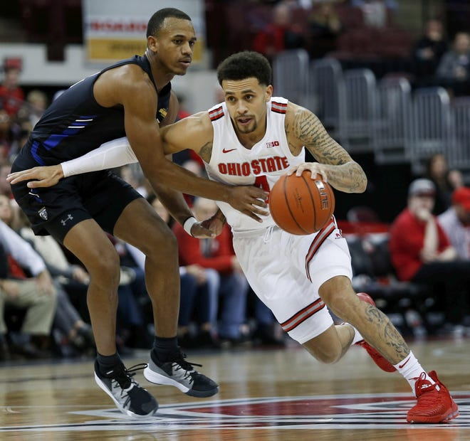Duane Washington Jr. is Ohio State's top returning scorer and played well when pressed into service at point guard last season, but he wants to raise his game further with a better mental approach.