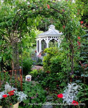"""The Delaware Center for Horticulture, in partnership with event sponsor Discover, announced the winners of its first-ever Virtual Garden Contest. Pictured is the first-place flower garden, """"Our Fairfield Garden"""" by Barb Rosen."""