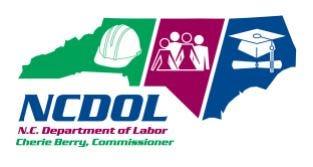 N.C. Department of Labor