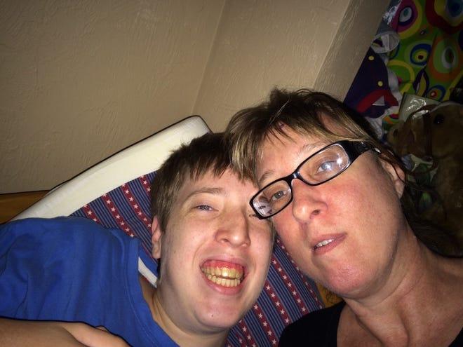 Brandon and Donna Berman before Brandon's death in 2017.