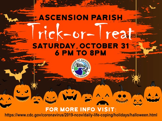 Ascension Parish Council sets Trick-or-Treat hours
