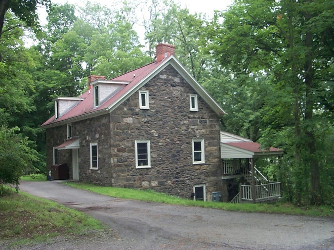Captain Jacob Shoemaker House in Delaware Water Gap National Recreation Area.