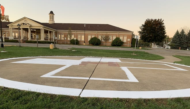 The helipad at the former Ellwood City Medical Center has reopened for emergency flights.