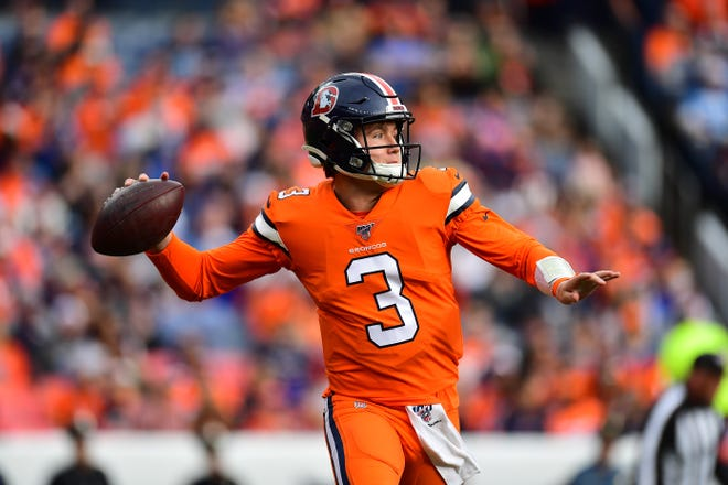 Denver Broncos quarterback Drew Lock, a Lee's Summit High School graduate and former Missouri star, is still the starter for Denver when he returns from COVID-19 quarantine, coach Vic Fangio said. All four Denver QBs missed Sunday's game against New Orleans because of the virus.