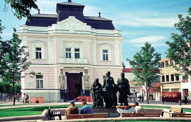 The city of Martin, Slovakia is working on developing a Sister City relationship with Sugar Creek and Independence.